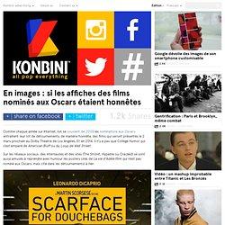 En images : si les affiches des films nominés aux Oscars étaient honnêtes