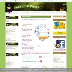 Affiches Picbille - Chez Lutin Bazar