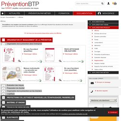 Affiches Prévention BTP