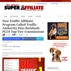 New Affiliate Program Called Traffic Authority - Complete Review