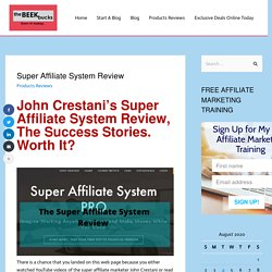 The ABC Of Affiliate Marketing
