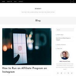 Run an Affiliate Program on Instagram