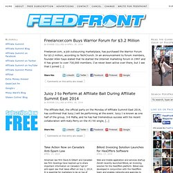 Affiliate Magazine — FeedFront