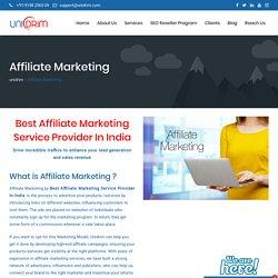 Best Affiliate Marketing Service Provider In India