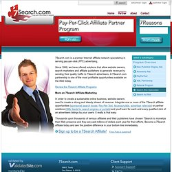 Pay-Per-Click (PPC) Search Engine Affiliate Partner Program