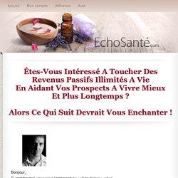Affiliation — Les Éditions ÉchoSanté inc.
