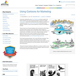 Using Cartoons for Marketing «