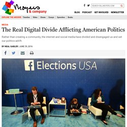 The Real Digital Divide Afflicting American Politics - BillMoyers.com