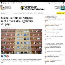 Suède: l'afflux de réfugiés met à mal l'idéal égalitaire du pays