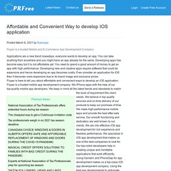 Affordable and Convenient Way to develop IOS application