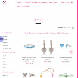 Shop Affordable Jewelry for Infant Girl and Toddlers at Chanteur - chanteurdesigns