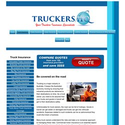 Affordable Commercial Truck Insurance Comparison & Brokers Australia