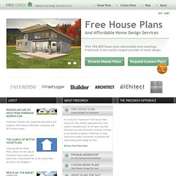 Free House Plans, Premium Home Plans, Green Floor Plans & More