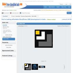 You're looking affordable WordPress CMS development in India (Koln,). Web Traffic
