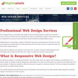Web design services & affordable web development solution