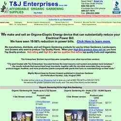 T&J Enterprises_ Affordable Organic