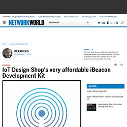 IoT Design Shop's very affordable iBeacon Development Kit