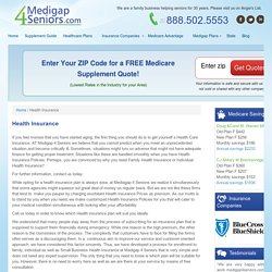 Family Health Insurance at Medigap4Seniors