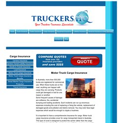Comprehensive Truck Insurance Australia