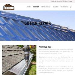 Affordable Gutter Repair Service in Virginia - Maintenanceva