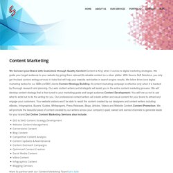 Affordable Content Marketing Services