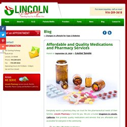 Affordable and Quality Medications and Pharmacy Services
