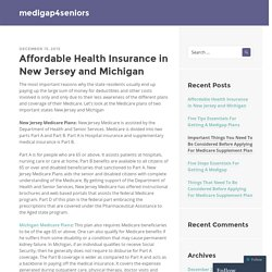 Affordable Health Insurance in New Jersey and Michigan