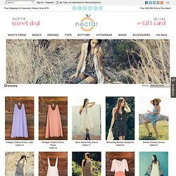 Dresses at Nectar Clothing