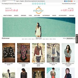 Outerwear | Affordable Women's Outerwear, Trendy Girl's Jackets and Coats | nectarclothing.com