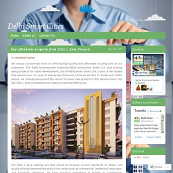 Buy affordable property from DDA L Zone Projects