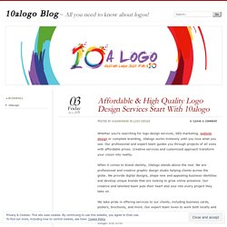 Affordable & High Quality Logo Design Services Start With 10alogo