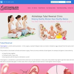 Affordable Tubal Reversal Cost & Ligation Recovery Louisiana