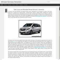 Minicab Services Homerton: Take Luxury and Affordable Minicab Services in Homerton