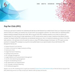 Affordable Pay Per Click(PPC) Services in India