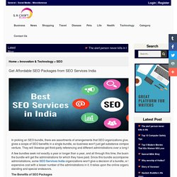 Get Affordable SEO Packages from SEO Services India