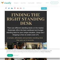 Shop the Affordable Standing Desks - Deskmate