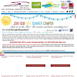 Affordable Summer Camps!