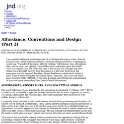 Affordance, Conventions and Design (Part 2)
