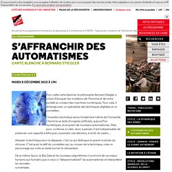 S'affranchir des automatismes - THEMA : Fabuleuses mutations