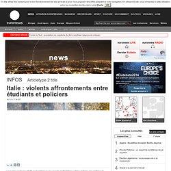 actualité internationale et européenne, les infos en direct sur euronews