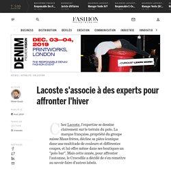 Lacoste s'associe à des experts pour affronter l'hiver - Actualité : collection (#1141288)