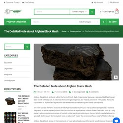 Afghan Black Hash - Buy Afghan Black Hash online