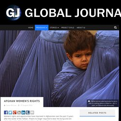 Afghan women's rights: Global Journalist