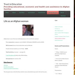 Life as an Afghan woman - Trust in Education
