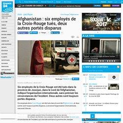Afghanistan : six employés de la Croix-Rouge tués, deux autres portés disparus