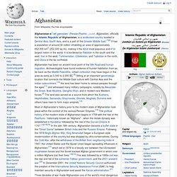 Afghanistan, wikipedia
