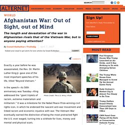 Afghanistan War: Out of Sight, out of Mind
