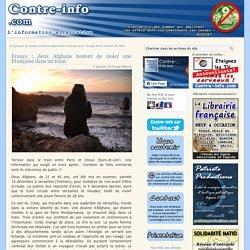 France : deux Afghans tentent de violer une Française dans un train