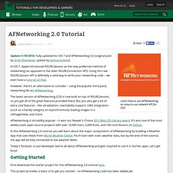 AFNetworking 2.0 Tutorial