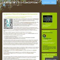 AFNOR « Le blog de l'éco-conception